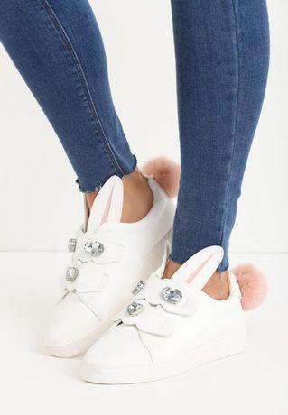 Króliczki buty sportowe NOWE