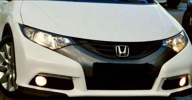 Honda Civic IX капот бампер фара крыло передняя панель телевизор