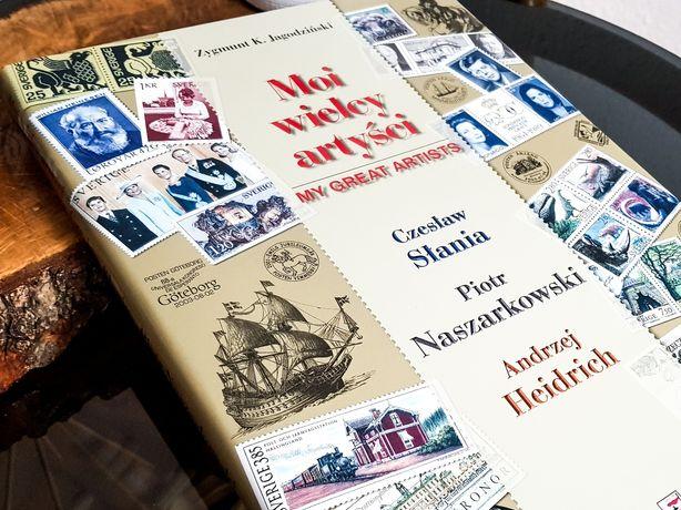 Album MOI WIELCY ARTYŚCI Z. K. JAGODZINSKI * Banknoty * Znaczki * 184!
