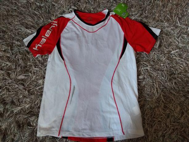 Nowa Koszulka T-shirt sportowy Kalenji Decathlon XS rower biegania