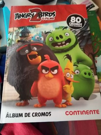 Álbum/caderneta angry birds 2