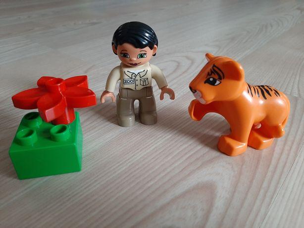 Lego Duplo figurki,  tygrys