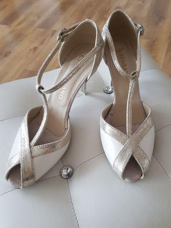 Buty taneczne ślubne Sensatiano model holly