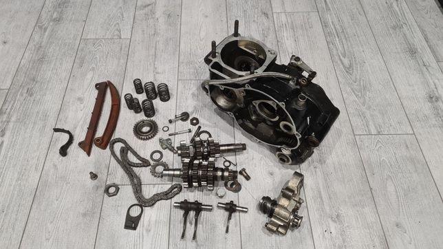 KTM LC4 620.400.600.640 Kartery Skrzynia Mechanizm Tryb Wodziki Silnik