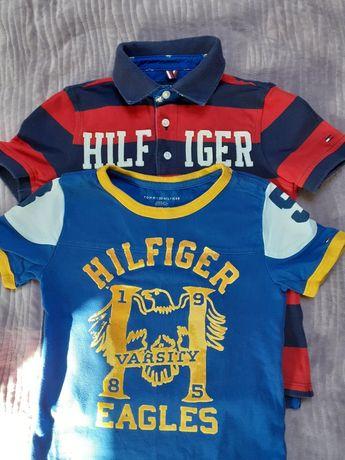 Dwie koszulki Tommy Hilfiger 4/5 lat rozmiar 110