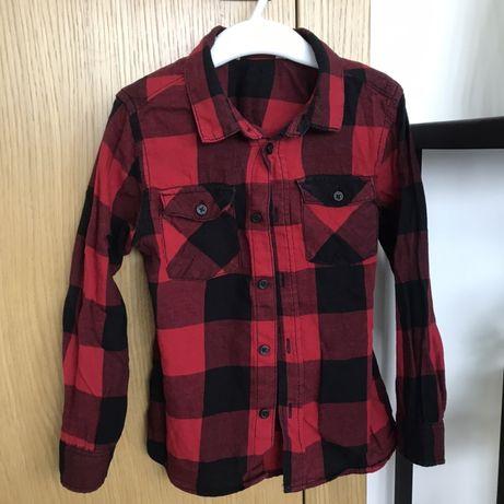 Koszula krata Święta H&m