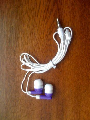 Słuchawki fi 3,5 mm, stereo do telefonu iPhone, Samsung LG
