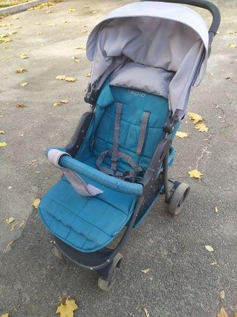 Прогулочная детская коляска 4BABY RAPID 2017 (темно-бирюзовый)