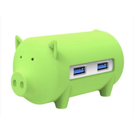 USB-хаб - ORICO Litte Pig Hub + Card Reader - USB 3.0 - новый