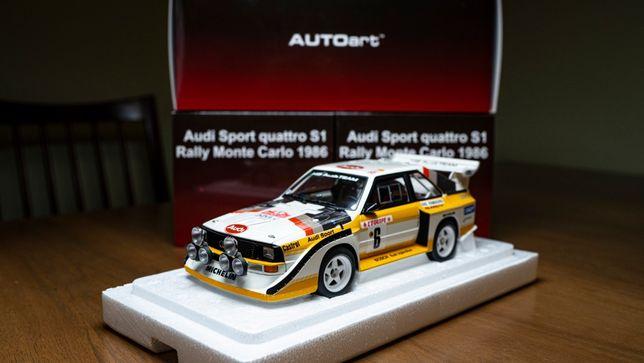 AUTOart 1:18 Audi Sport Quattro S1 #6 Rally Monte Carlo