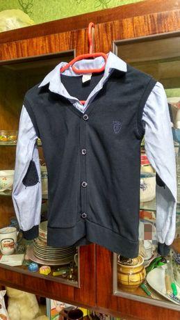 Рубашка / кофта / форма детская для мальчика