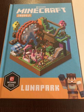 Książka Minecraft- Lunapark