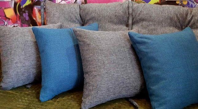 Подушки декоративные мебельные садовые на стул диванные