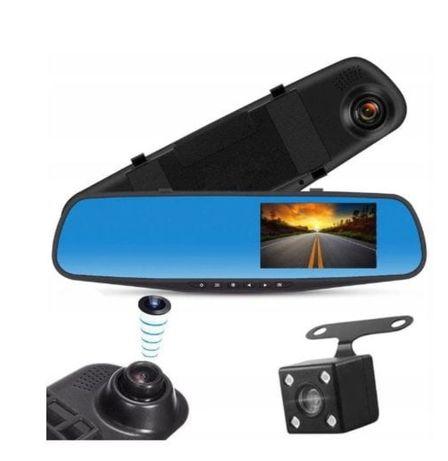 Rejestrator jazdy w lusterku kamera cofania
