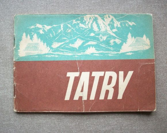 Tatry, M. Sobański, 1952, książeczka ze zdjąciami, 16 kart.
