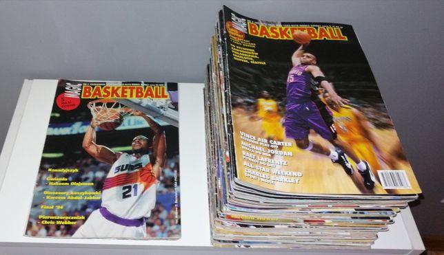 MAGIC BASKETBALL mega zestaw!!! magazyn koszykówka NBA