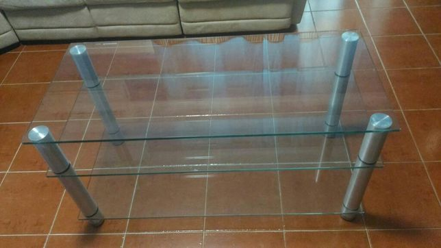 Mesa TV em vidro