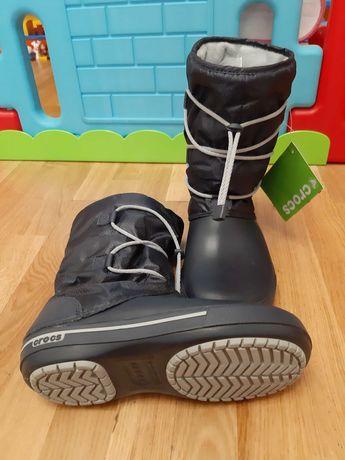 Сапоги Crocs  Crocband II.5 зимние 36 37 US6
