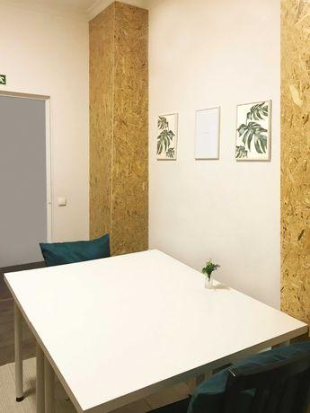 Espaços de trabalho, gabinete/escritório