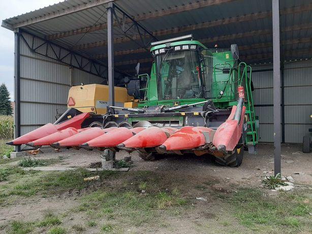 Usługi rolnicze koszenie kukurydzy na ziarno  TRANSPORT