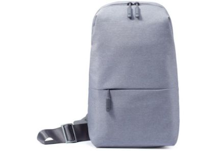 Рюкзак Xiaomi Mi City Sling Bag Light Grey. Оригинал