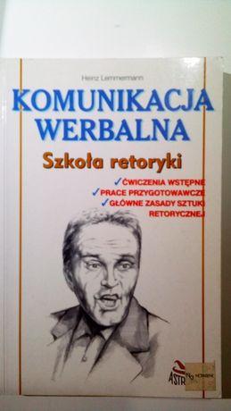 Komunikacja werbalna Szkoła retoryki Heinz Lemmermann
