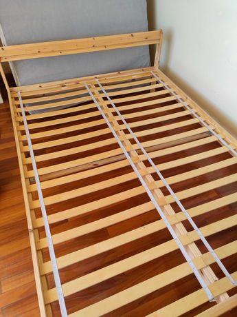Cama de casal IKEA Neiden