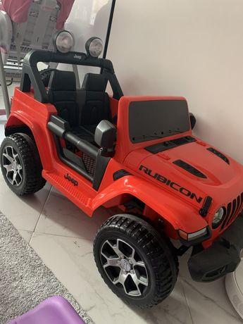 Jeep Rubicon детский электромобиль