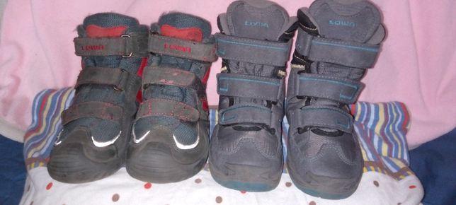 Зимние термо сапожки и ботинки деми Lowa.