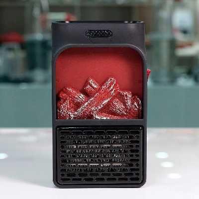 Экономичный обогреватель flame heater 500 Wt с подсветкой