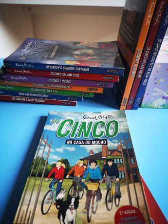 Livros de aventuras Os Cinco