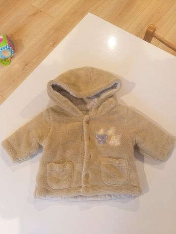 Ciepła bluza/kurtka 0-3 miesięcy