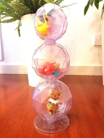 L.O.L SURPRISE Winter Disco lils + fluffy pets + glitter globe
