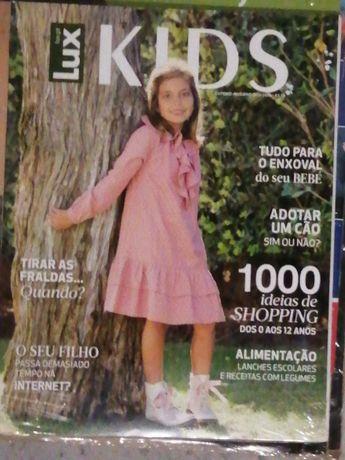 Revistas Lux e Lux kids novas
