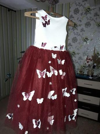 Выпускное нарядное платье!!!