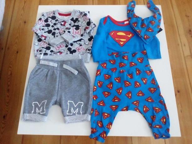 Ubranka dla niemowlaka, rozmiar 56, mix. firm. 11 sztuk. Super stan
