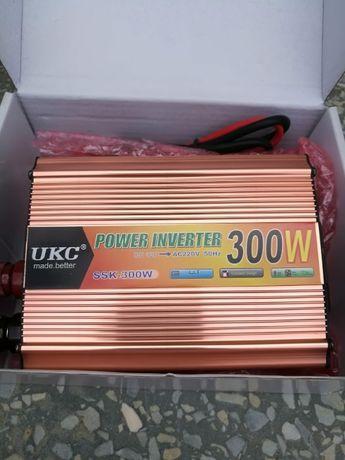 Преобразователь инвертор 12V-220V 300W/1000W/1200W/2000W/3000W