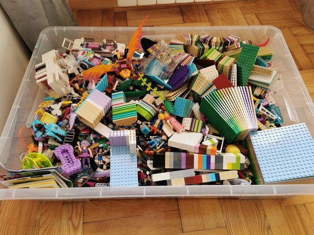 Lego - różne zestawy ponad 15kg