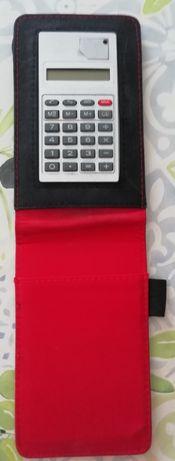 Bolsa com calculadora
