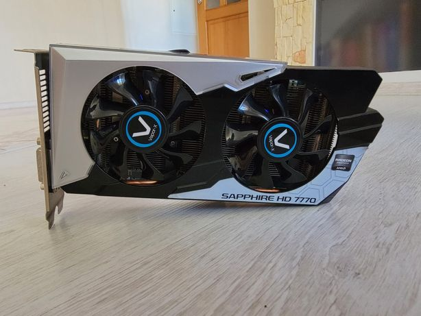 Sapphire AMD Radeon HD7770 vapor-x ghz edition 1g