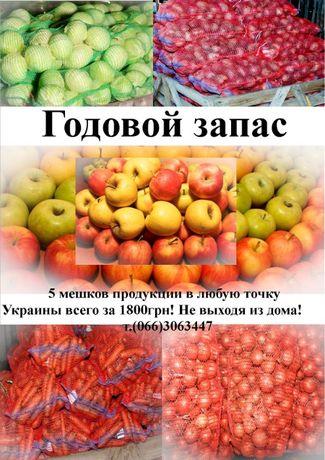 Годовой запас продуктов