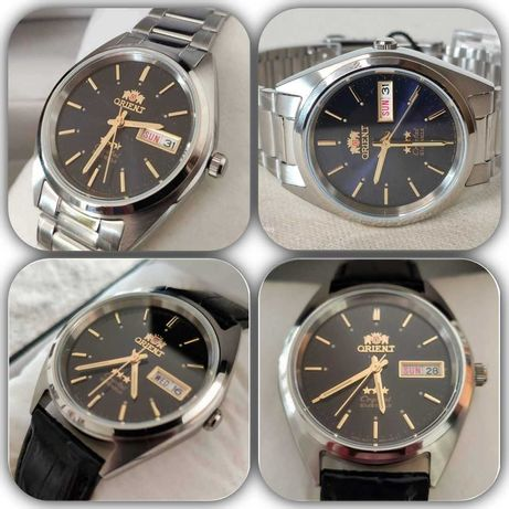 Relógios ORIENT 3 Star Unissexo Automáticos Vidro Cristal (Promoção)