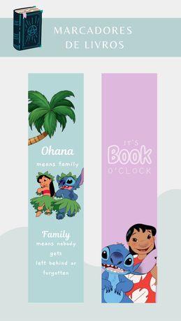 Marcadores de livros | lilo & Stitch