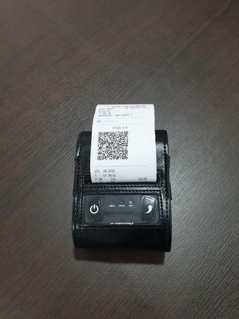 Impressora portátil bluetooth 58mm com bateria QRCODE