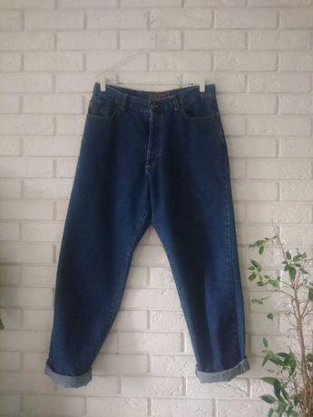 slouchy jeans szerokie nogawki balloon jeans vintage baloniaste
