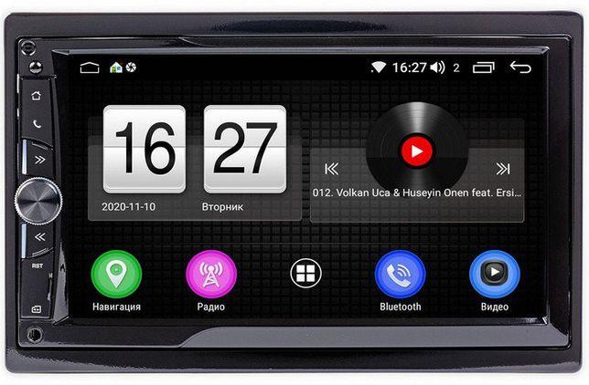 2din Android-магнитола 4/32 Гб + 8 ядер GPS USB WiFi Aux DSP гарантия