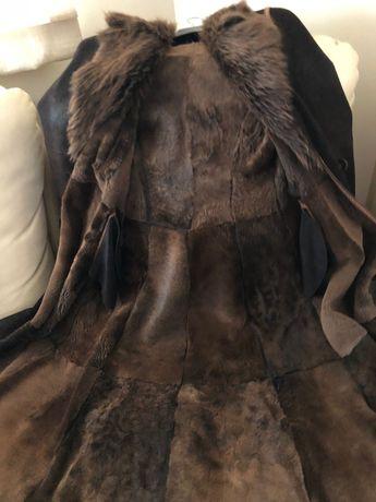 Hexeline długi płaszcze / kożuch