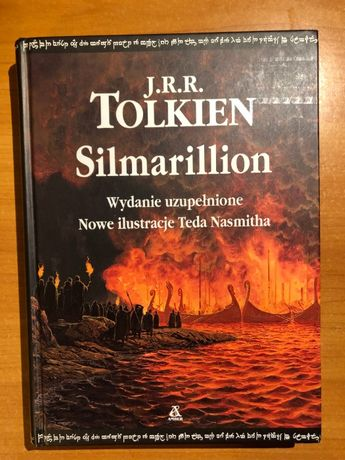 J.R.R. Tolkien – Silmarillion, wyd. Amber, twarda