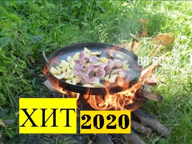 +КРЫШКА!! Сковорода из диска Садж сковорідка жаровня гриль