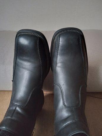 Шкіряні сапоги, ботинки